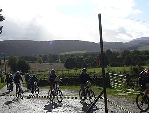 Biking in Perthshire