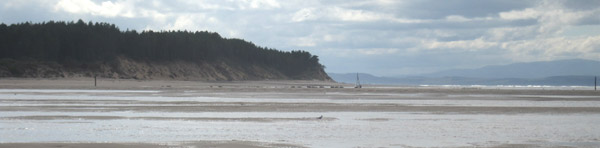 Holiday photo from Findhorn