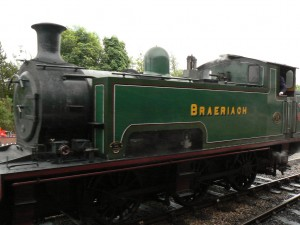 Steam Train on Strathspey Railway