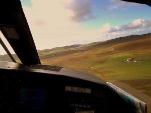 Shetland from Air