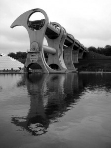Falkirk Wheel by Daveybot on Flickr