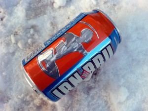 Irn Bru by Mary Hutchison